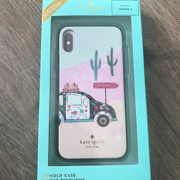 outlet store 2db32 259cf Kate Spade New York Out of Office iPhone X Case NWT